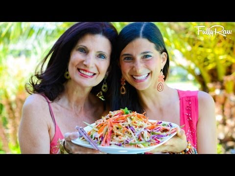 Mom - Raw Vegan Pad Thai with mom and me! Join us as we have fun in the kitchen making this delicious Asian, ethnic dish! http://youtu.be/cWV1STaMuKI Ingredients f...