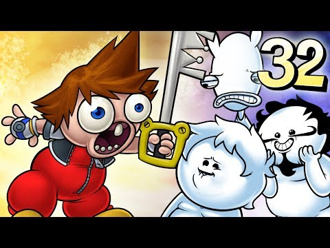 Oney Plays Kingdom Hearts WITH FRIENDS - EP 32 - Stink, Grink, and Fink (видео)