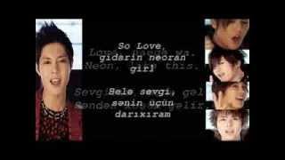 SS501 - Love Like This (Rom + Azeri Sub)