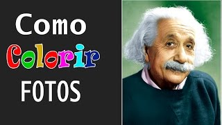 Aula Photoshop - Como colorir Foto Preto e Branco - Part 01 de 04