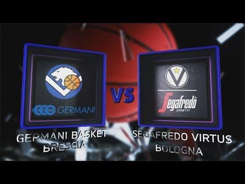 Virtus, gli highlights del match contro Brescia