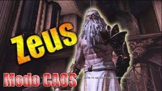 Zeus en modo CAOS (Chaos) // Como derrotar a Zeus GOW3 (Kratos vs Zeus)
