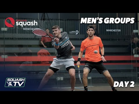 AJ Bell England Squash Challenge 2020 - Men's Groups - Day 2 Roundup