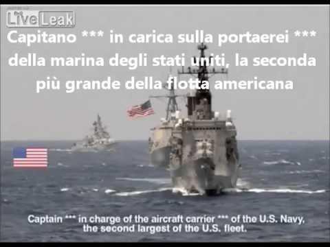 figuraccia mondiale della marina usa