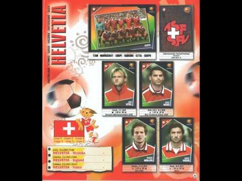 Panini Euro 2004 Portugal Naklejki Panini Champions League Przesy  Ka