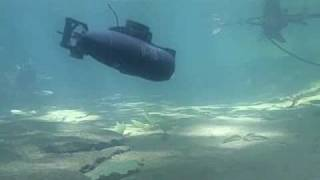 Underwater Video RC Submarine U-16 Micro Sub