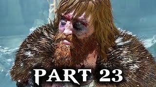 God of War Gameplay Walkthrough Part 23 - DON'T SPEAK TO ME I'M A GOD (PS4 2018)
