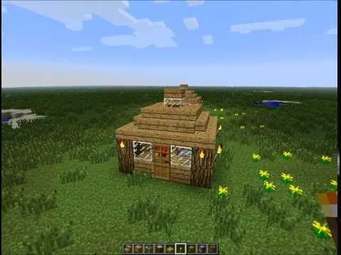 Source: Gallery4share.com · Report. Nice Small House Minecraft | Smallest  House In The World
