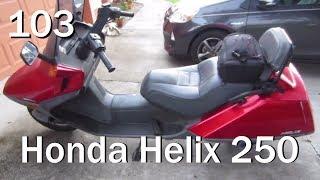 3. Everyone Needs a Scooter Meet Honda Helix 250 | Vlog 103 Oldsmar Florida