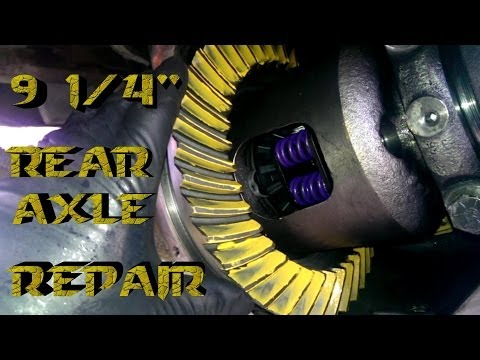 How to Rebuild 9 1/4″ Rear End 1970-2009