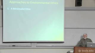 3. Approaches to Environmental Ethics [Environmental Ethics]