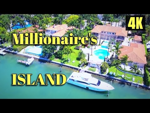 Video Millionaire's Islands in Miami Beach: Star Island and Palm Island download in MP3, 3GP, MP4, WEBM, AVI, FLV January 2017