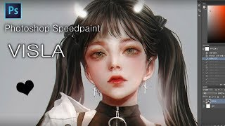 Photoshop Speedpaint - VISLA