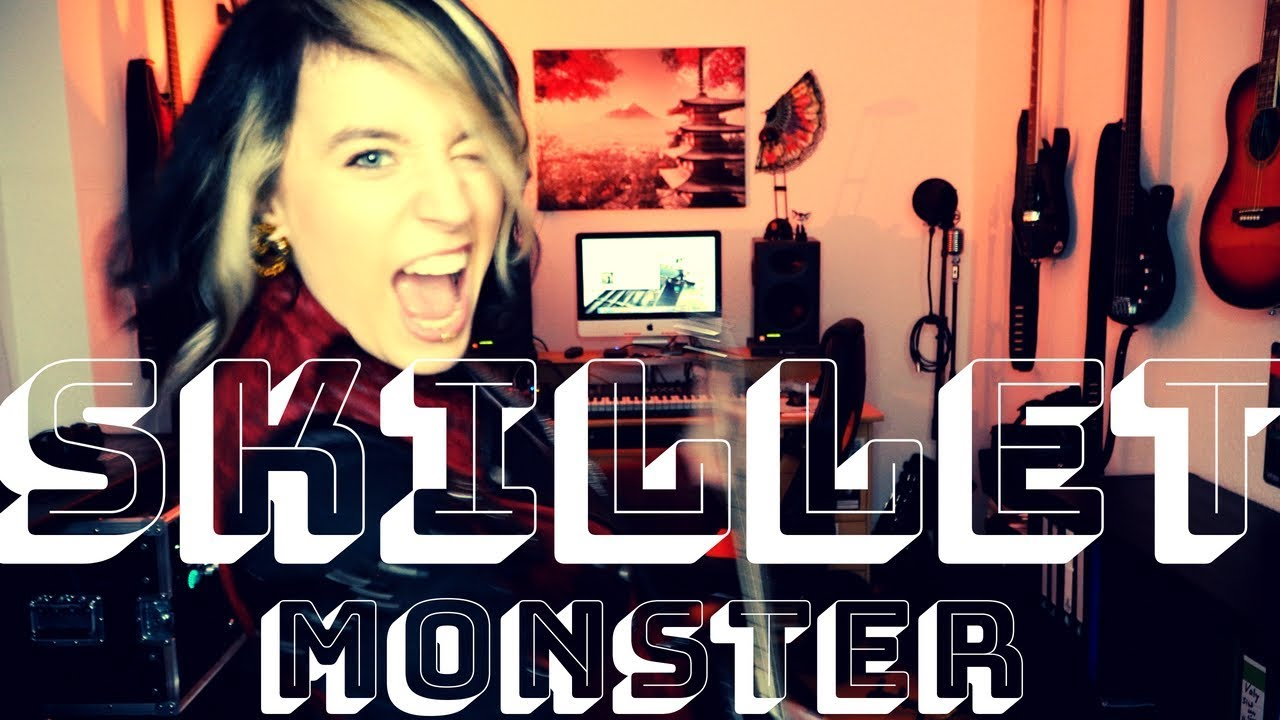 Skillet – Monster Live Guitar Cover [4K / MULTICAMERA]