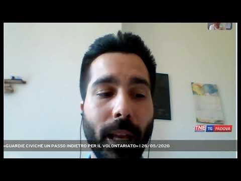 «GUARDIE CIVICHE UN PASSO INDIETRO PER IL VOLONTARIATO»   26/05/2020