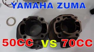 6. 50cc to 70cc kit for a zuma, vino, or jog engine