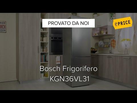 Video Recensione Frigorifero Combinato Bosch KGN36VL31