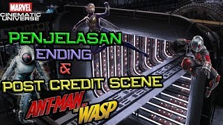 Video SPOILER !! Penjelasan Ending dan Post Credit Scene Ant-Man and The Wasp | Marvel Indonesia MP3, 3GP, MP4, WEBM, AVI, FLV September 2018