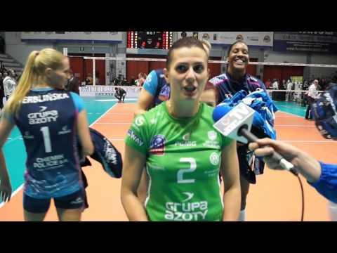 Mariola Zenik: To był bardzo emocjonujący mecz.