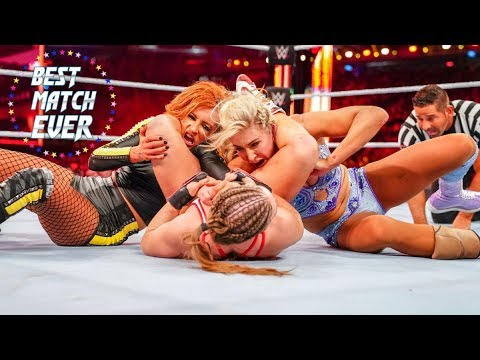 Best Match Ever 19 - Ronday Rousey vs. Charlotte Flair vs. Becky Lynch (WWE WrestleMania 35)