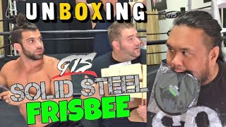 Code GRIM saves 10% here http://thatwrestleclub.com/Grim and his TV star friends unbox toys and solid steel frisbee, action figures autographs from this months crate plus an update on truck driver ginge!