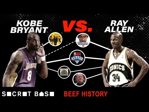 Video: Kobe Bryant's beef with Ray Allen was short, but haunted Kobe for years