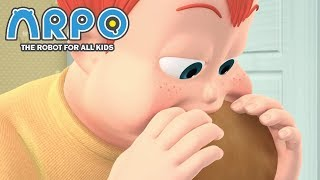 Video ARPO The Robot For All Kids - All the Pancakes | Compilation | Cartoon for Kids MP3, 3GP, MP4, WEBM, AVI, FLV Maret 2019