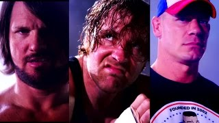 AJ Styles, Dean Ambrose and John Cena are heading to No Mercy