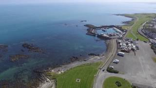 Some views from my DJI Phantom 3 Standard drone in and around County Down, Northern Ireland.  I firstly go to Groomsport and fly around the harbour showing views of it and the town itself.  I then proceed to Donaghadee and plan to fly around the harbour there.  Unfortunately the harbour master advised me I would be unable to fly from there.  I then proceeded up the road and flew from there knowing with enough height I would get a view of the harbour.  Still having a little charge left on my battery I took the drone to Crawfordsburn Country Park and flew from the beach are there.  I'm sure you'll agree the area looks great in the sunshine.