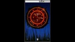 Big Clock Widget YouTube video