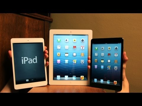 New Apple iPad mini, 4th Generation Unboxing (4G 2012) and Giveaway