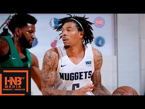 Boston Celtics vs Denver Nuggets Full Game Highlights / July 7 / 2018 NBA Summer League