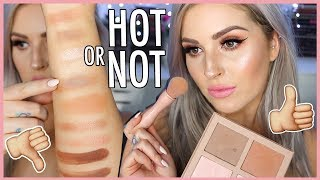 FIRST IMPRESSION REVIEW 🔥 KKW BEAUTY Powder Contour Kits & Swatches! by Shaaanxo