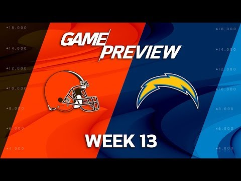 Video: Cleveland Browns vs. Los Angeles Chargers | NFL Week 13 Game Preview | NFL Playbook