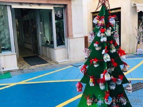 Árboles de Navidad Centros Escolares de Isla Cristina