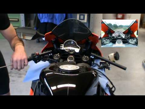 Honda CBR 1000 RR + Stummellenker multiClip by ABM