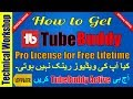 How to get tubebuddy star license for free legally, tubebuddy pro