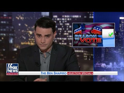 Ben Shapiro's 10 Reasons to Vote Republican in November