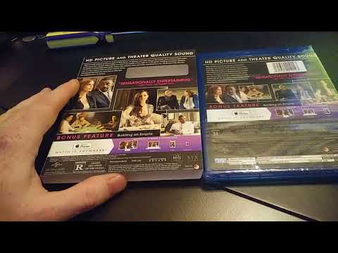 Unboxing Video For Molly's Game Blu Ray Digital Set, Instawatch?, ITunes? Vudu?