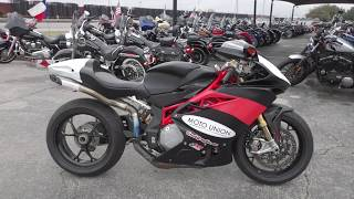 5. 003818 - 2013 Mv Agusta F4 RR - Used motorcycles for sale