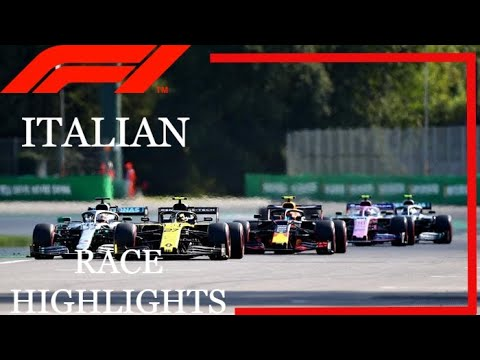 2019 Italy Grand Prix Race Highlights