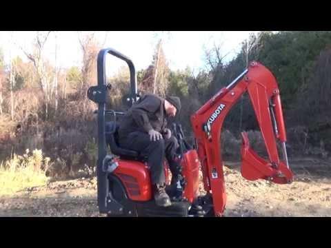 Mini kubota excavators снимок