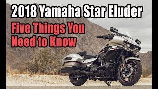 2. 2018 Yamaha Star Eluder: 5 Things You Need To Know