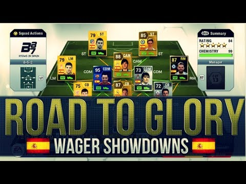 FUT13 | RTG Wager Matches in Spain | 3 Huge Upgrades! #17