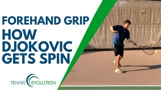 Get Your FREE Tips and Strategies to Dramatically Improve Your Game → http://tennisevolution.com On the tennis forehand grip, players are always asking me ho...