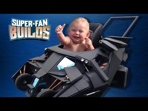 好萊塢專業特效公司製作的『蝙蝠嬰兒車』~