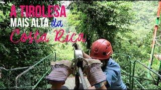 Foi uma dia diferente e agitado em Arenal na Costa Rica. Caminhamos no meio da floresta, cruzamos algumas pontes suspensas, andamos em teleférico e no ...