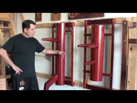 Wing Chun Dummy with Leg