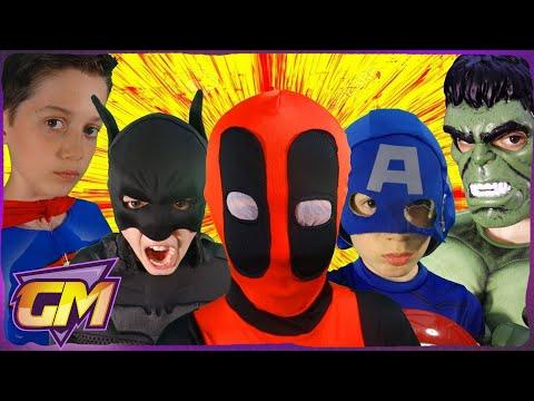 Video Deadpool Vs Superman V Batman V Captain America V Hulk V Joker - POV download in MP3, 3GP, MP4, WEBM, AVI, FLV January 2017