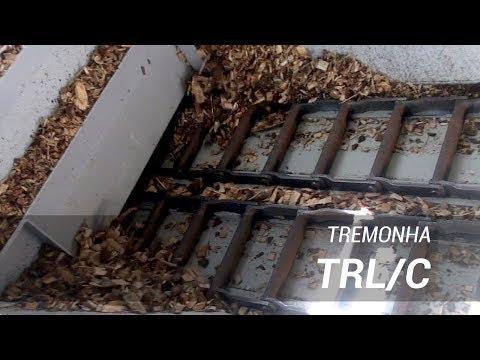 Tremonha (Moega) de recepção para alimentação automática de biomassa - Lippel